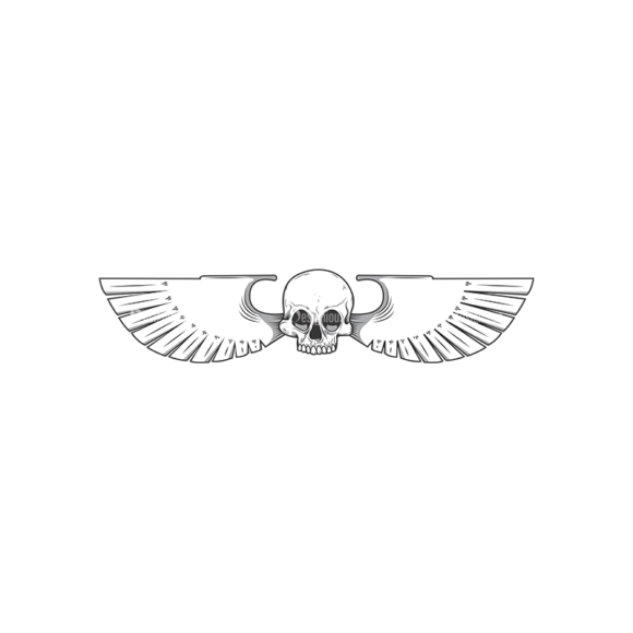 Skull Vector Clipart 11-7 Clip Art - SVG & PNG vector