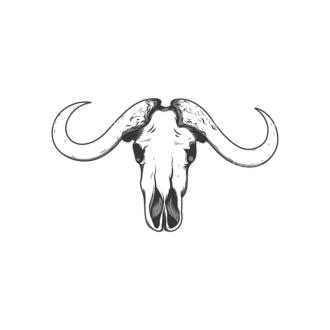 Skull Vector Clipart 12-1 Clip Art - SVG & PNG vector