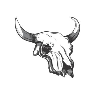Skull Vector Clipart 12-8 Clip Art - SVG & PNG vector