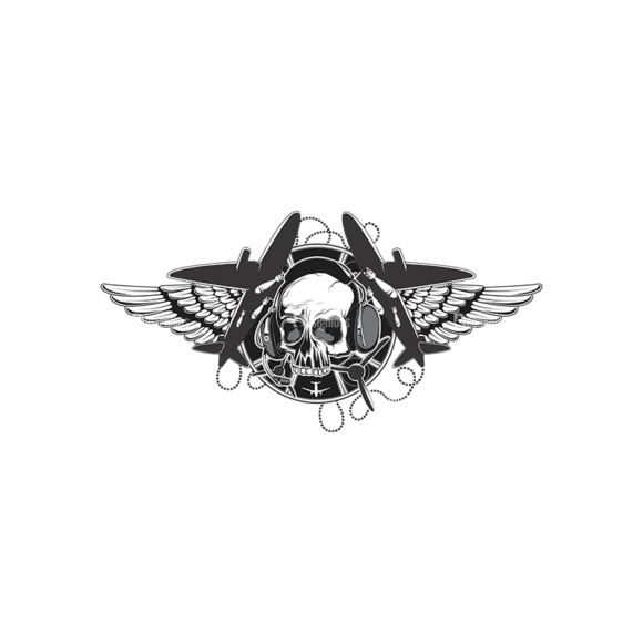 Skull Vector Clipart 13-1 Clip Art - SVG & PNG vector