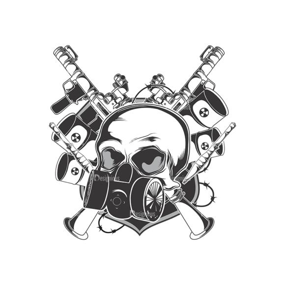 Skull Vector Clipart 13-2 skulls pack 13 2 preview