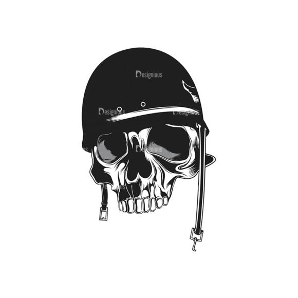 Skull Vector Clipart 14-14 Clip Art - SVG & PNG vector