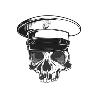 Skull Vector Clipart 14-6 Clip Art - SVG & PNG vector
