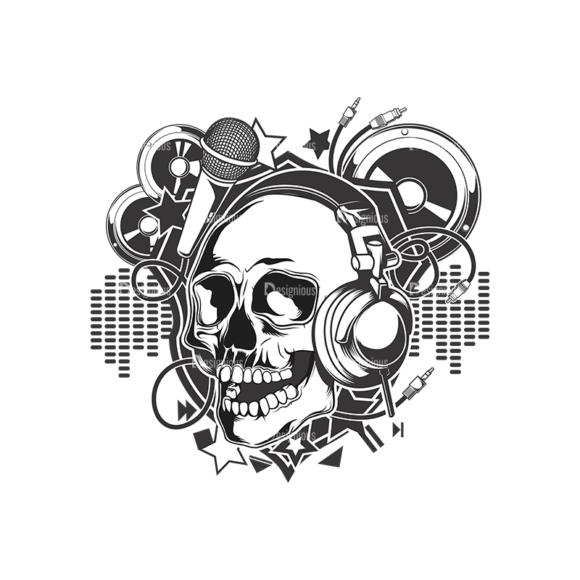 Skull Vector Clipart 15-2 skulls pack 15 2 preview