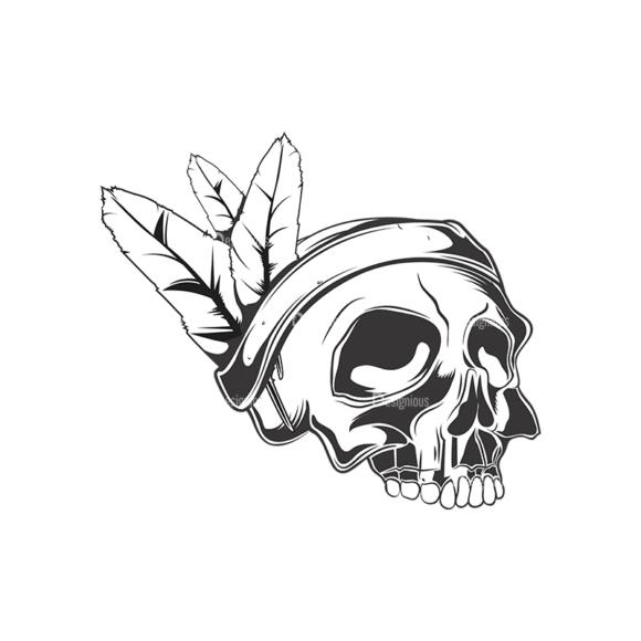 Skull Vector Clipart 15-3 skulls pack 15 3 preview
