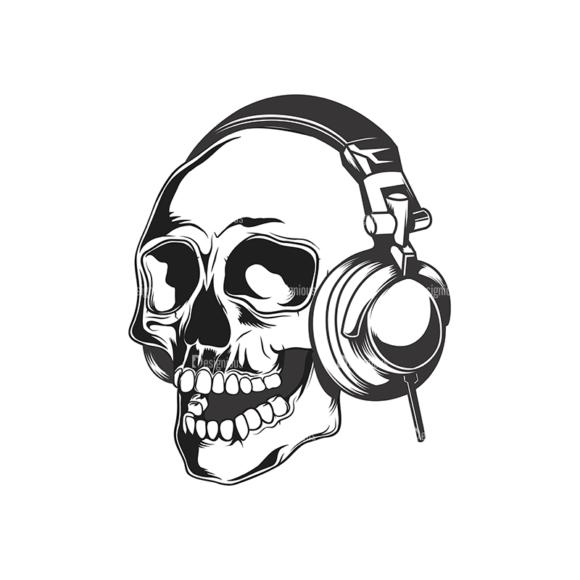 Skull Vector Clipart 15-9 skulls pack 15 9 preview