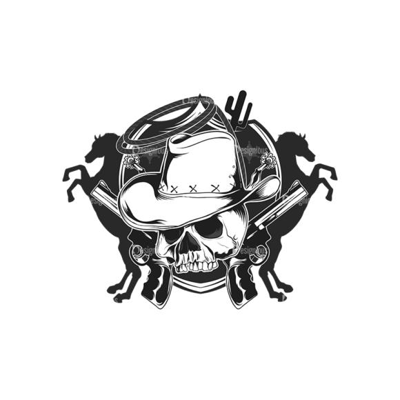 Skull Vector Clipart 16-1 skulls pack 16 1 preview