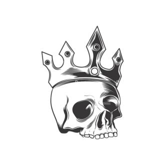 Skull Vector Clipart 16-15 Clip Art - SVG & PNG vector