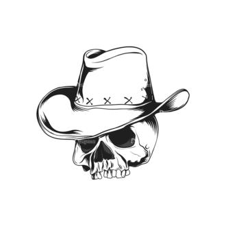 Skull Vector Clipart 16-4 Clip Art - SVG & PNG vector