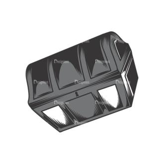Skull Vector Clipart 17-11 Clip Art - SVG & PNG vector