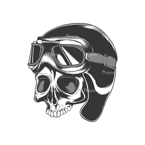 Skull Vector Clipart 17-6 skulls pack 17 6 preview