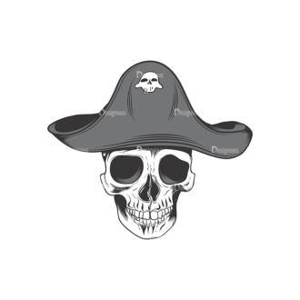 Skull Vector Clipart 17-7 Clip Art - SVG & PNG vector