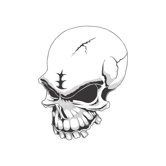 Skull Vector Clipart 18-1 Clip Art - SVG & PNG vector