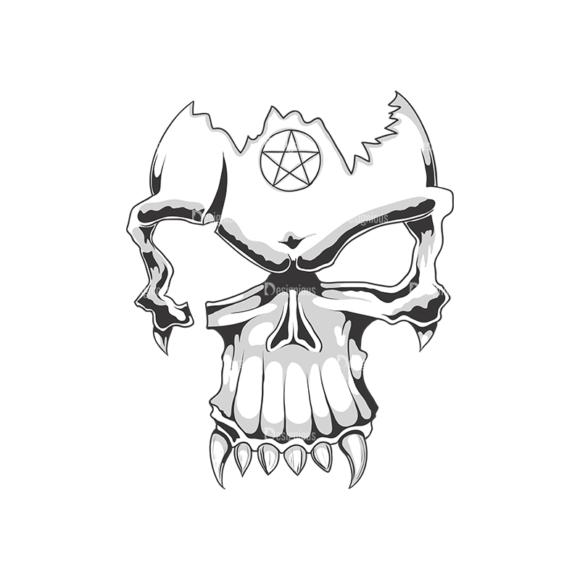 Skull Vector Clipart 18-11 Clip Art - SVG & PNG vector