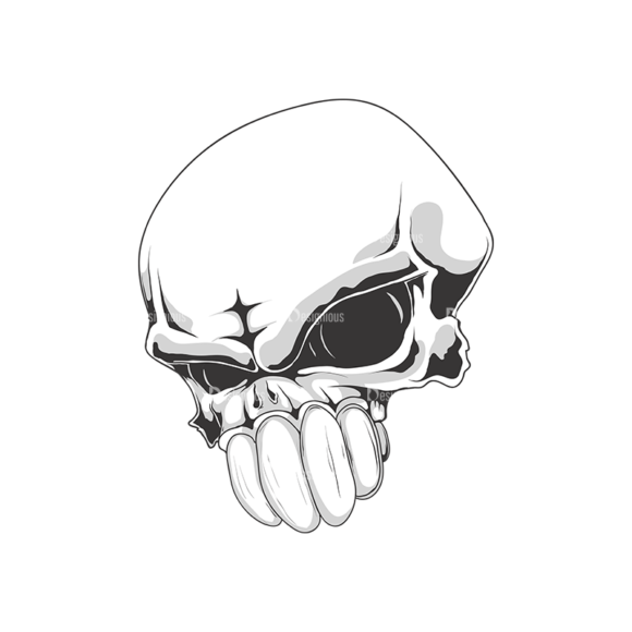 Skull Vector Clipart 18-8 skulls pack 18 8 preview