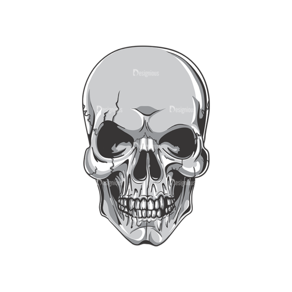 Skull Vector Clipart 19-1 skulls pack 19 1 preview