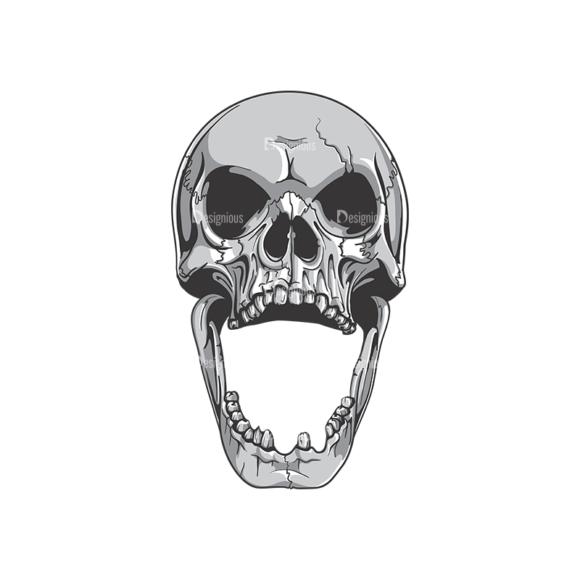 Skull Vector Clipart 19-4 Clip Art - SVG & PNG vector