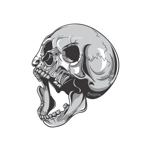 Skull Vector Clipart 19-6 Clip Art - SVG & PNG vector