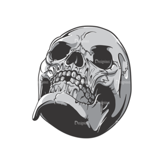 Skull Vector Clipart 19-9 Clip Art - SVG & PNG vector