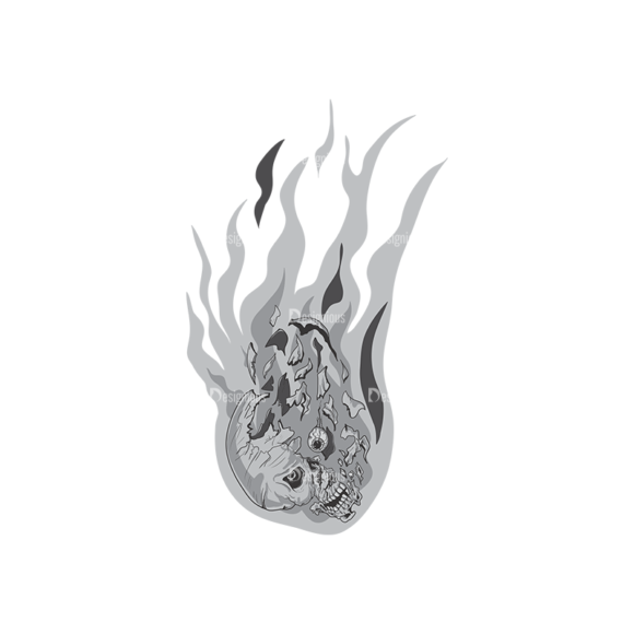 Skull Vector Clipart 2-1 Clip Art - SVG & PNG vector