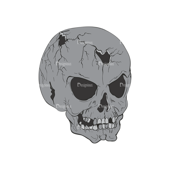 Skull Vector Clipart 2-13 skulls pack 2 13 preview