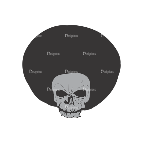 Skull Vector Clipart 2-5 Clip Art - SVG & PNG vector