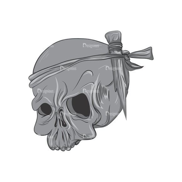 Skull Vector Clipart 2-7 skulls pack 2 7 preview
