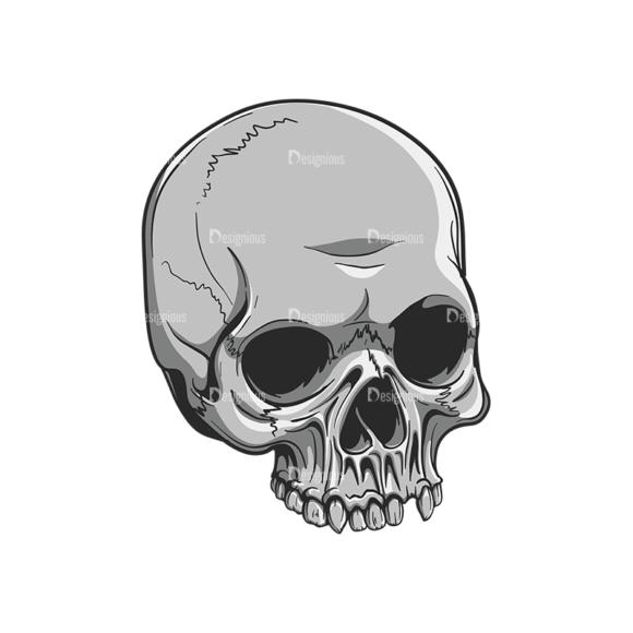 Skull Vector Clipart 20-1 skulls pack 20 1 preview