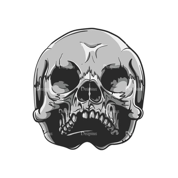 Skull Vector Clipart 20-9 skulls pack 20 9 preview