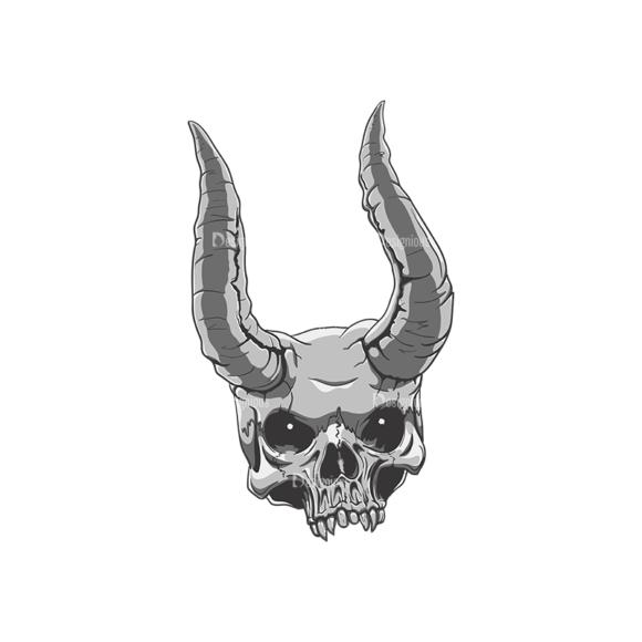 Skull Vector Clipart 21-1 Clip Art - SVG & PNG vector