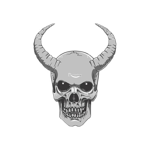 Skull Vector Clipart 21-3 skulls pack 21 3 preview