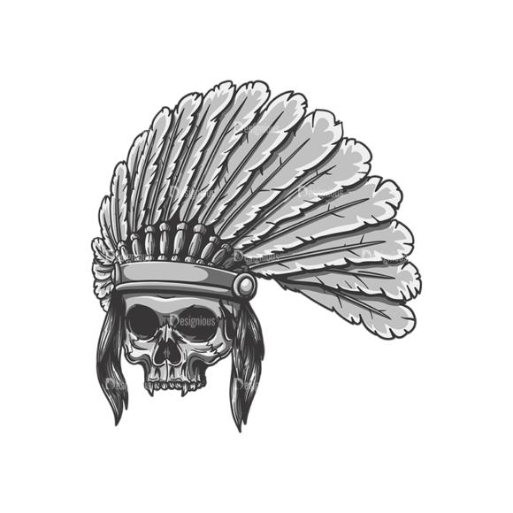 Skull Vector Clipart 22-3 Clip Art - SVG & PNG vector