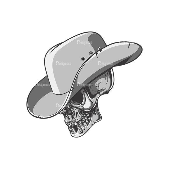 Skull Vector Clipart 22-4 1