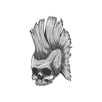 Skull Vector Clipart 22-6 Clip Art - SVG & PNG vector