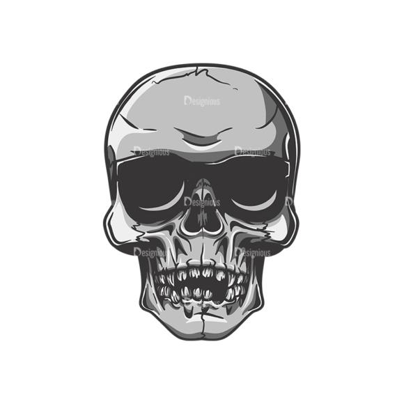 Skull Vector Clipart 22-8 Clip Art - SVG & PNG vector
