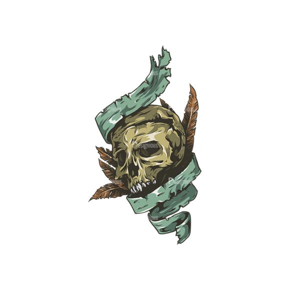 Skull Vector Clipart 24-3 skulls pack 24 3 preview