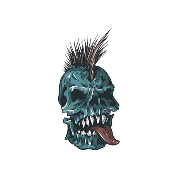Skull Vector Clipart 24-5 skulls pack 24 5 preview
