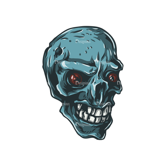 Skull Vector Clipart 25-1 skulls pack 25 1 preview