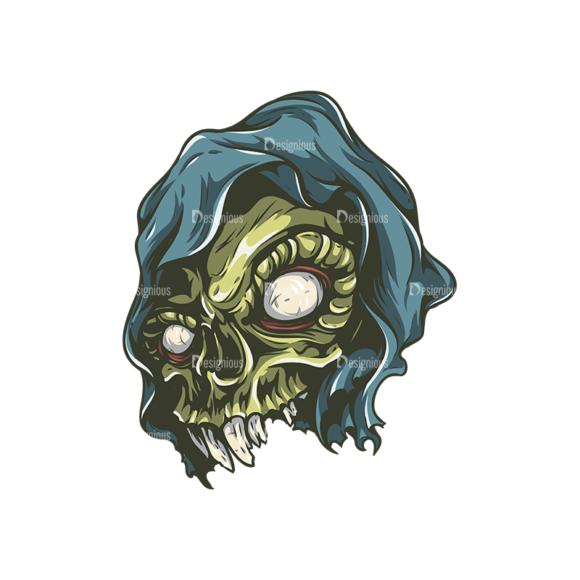 Skull Vector Clipart 26-4 skulls pack 26 4 preview