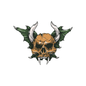 Skull Vector Clipart 26-5 Clip Art - SVG & PNG vector