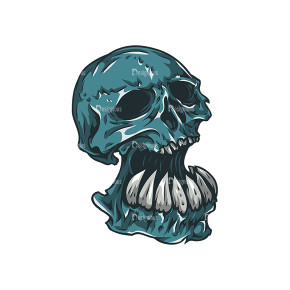 Skull Vector Clipart 27-2 skulls pack 27 2 preview