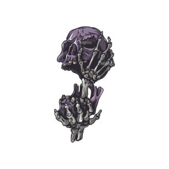 Skull Vector Clipart 27-3 Clip Art - SVG & PNG vector