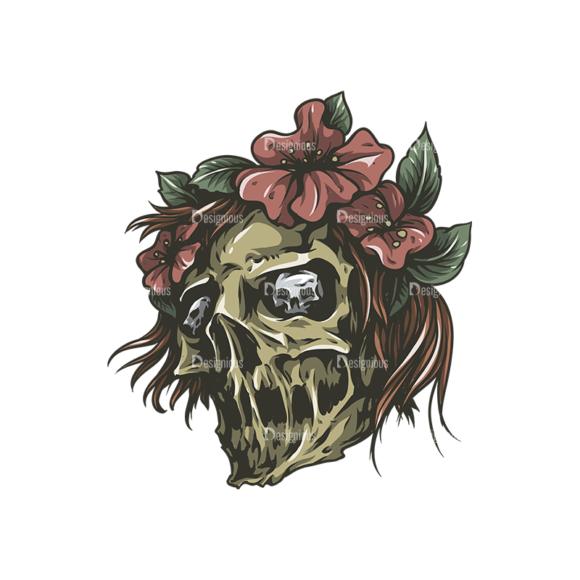 Skull Vector Clipart 27-4 skulls pack 27 4 preview