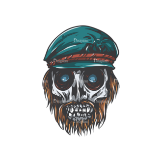 Skull Vector Clipart 27-5 Clip Art - SVG & PNG vector