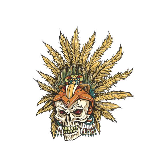 Skull Vector Clipart 29-2 Clip Art - SVG & PNG vector