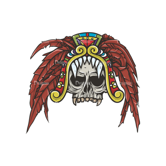 Skull Vector Clipart 29-5 skulls pack 29 5 preview