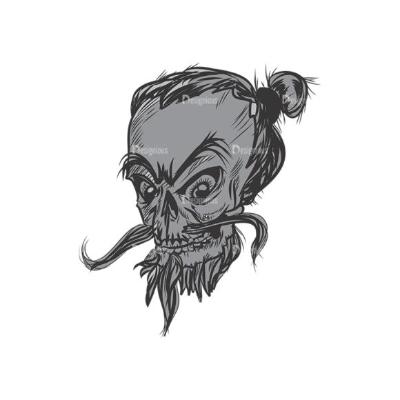 Skull Vector Clipart 3-3 skulls pack 3 3 preview
