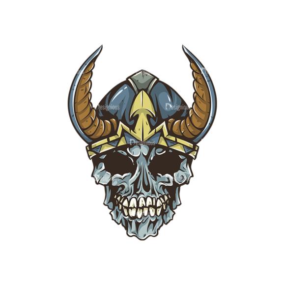 Skull Vector Clipart 30-1 skulls pack 30 1 preview