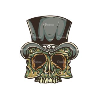 Skull Vector Clipart 30-3 Clip Art - SVG & PNG vector