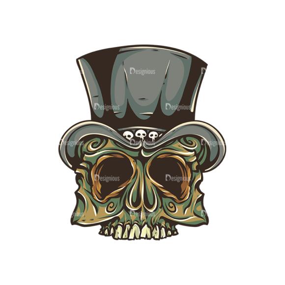 Skull Vector Clipart 30-3 skulls pack 30 3 preview